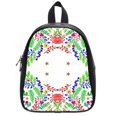 Holiday Festive Background With Space For Writing School Bags (small)  by Nexatart