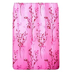 Pink Curtains Background Flap Covers (s)  by Nexatart