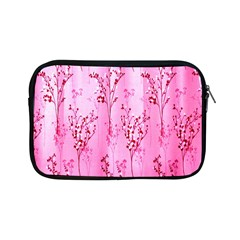 Pink Curtains Background Apple Ipad Mini Zipper Cases by Nexatart