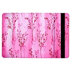 Pink Curtains Background Ipad Air Flip by Nexatart