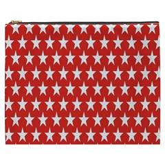 Star Christmas Advent Structure Cosmetic Bag (xxxl)
