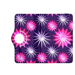 Stars Patterns Christmas Background Seamless Kindle Fire HDX 8.9  Flip 360 Case by Nexatart