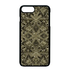Futuristic Polygonal Apple Iphone 7 Plus Seamless Case (black) by dflcprints