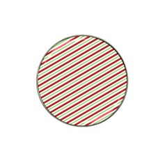 Stripes Striped Design Pattern Hat Clip Ball Marker (4 Pack)