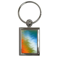 Texture Glass Colors Rainbow Key Chains (rectangle)  by Nexatart