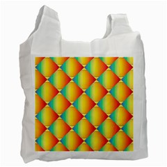 The Colors Of Summer Recycle Bag (one Side) by Nexatart