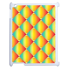 The Colors Of Summer Apple iPad 2 Case (White) by Nexatart