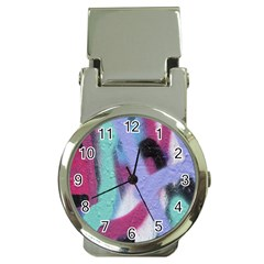 Texture Pattern Abstract Background Money Clip Watches