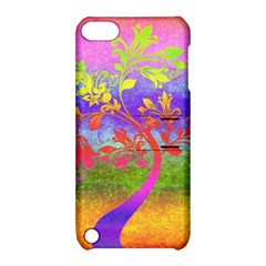 Tree Colorful Mystical Autumn Apple Ipod Touch 5 Hardshell Case With Stand by Nexatart