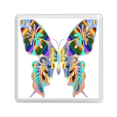 Abstract Animal Art Butterfly Memory Card Reader (square)  by Amaryn4rt