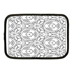 Pattern Silly Coloring Page Cool Netbook Case (medium)  by Amaryn4rt