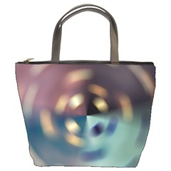 Blur Bokeh Colors Points Lights Bucket Bags by Amaryn4rt