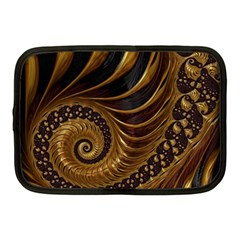Fractal Spiral Endless Mathematics Netbook Case (medium)  by Amaryn4rt