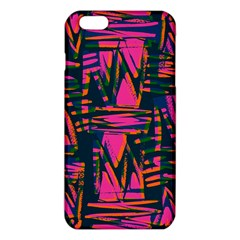 Bright Zig Zag Scribble Pink Green Iphone 6 Plus/6s Plus Tpu Case by Alisyart