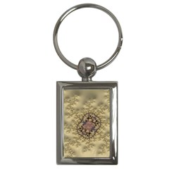 Fractal Art Colorful Pattern Key Chains (rectangle)  by Amaryn4rt