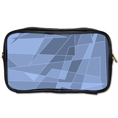 Lines Shapes Pattern Web Creative Toiletries Bags 2 Side by Amaryn4rt