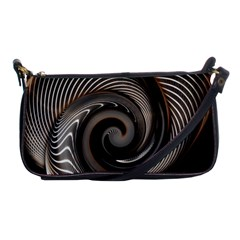 Abstract Background Curves Shoulder Clutch Bags by Amaryn4rt