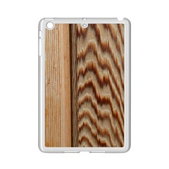 Wood Grain Texture Brown Ipad Mini 2 Enamel Coated Cases by Amaryn4rt