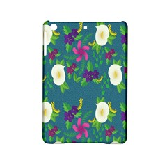 Caterpillar Flower Floral Leaf Rose White Purple Green Yellow Animals Ipad Mini 2 Hardshell Cases by Alisyart
