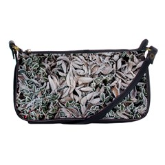 Ice Leaves Frozen Nature Shoulder Clutch Bags
