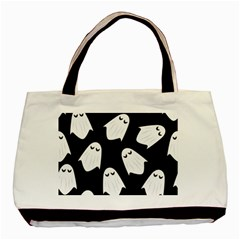 Ghost Halloween Pattern Basic Tote Bag