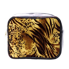 Stripes Tiger Pattern Safari Animal Print Mini Toiletries Bags by Amaryn4rt