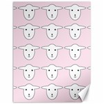 Sheep Wallpaper Pattern Pink Canvas 18  x 24   24 x18 Canvas - 1