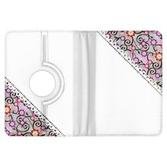 Floral Ornament Baby Girl Design Kindle Fire Hdx Flip 360 Case by Amaryn4rt