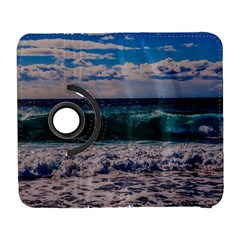 Wave Foam Spray Sea Water Nature Galaxy S3 (flip/folio) by Amaryn4rt