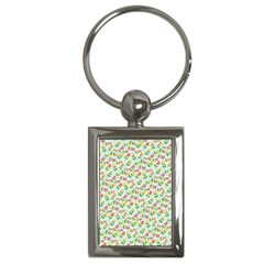 Flowers Roses Floral Flowery Key Chains (rectangle)  by Amaryn4rt