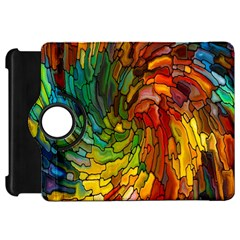 Stained Glass Patterns Colorful Kindle Fire Hd 7  by Amaryn4rt