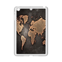 Grunge Map Of Earth Ipad Mini 2 Enamel Coated Cases by Amaryn4rt