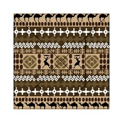 African Vector Patterns Acrylic Tangram Puzzle (6  X 6 ) by Amaryn4rt