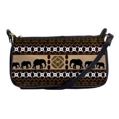 African Vector Patterns  Shoulder Clutch Bags by Amaryn4rt