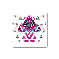 Geometric Play Square Magnet