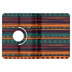 Ethnic Style Tribal Patterns Graphics Vector Kindle Fire Hdx Flip 360 Case by Amaryn4rt