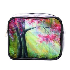 Forests Stunning Glimmer Paintings Sunlight Blooms Plants Love Seasons Traditional Art Flowers Sunsh Mini Toiletries Bags by Amaryn4rt
