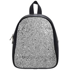 Abstract Flowing And Moving Liquid Metal School Bags (small)  by Amaryn4rt
