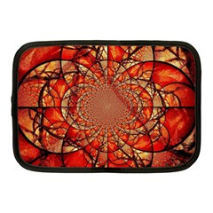 Dreamcatcher Stained Glass Netbook Case (medium)  by Amaryn4rt
