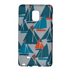 Ship Sea Blue Galaxy Note Edge by Alisyart