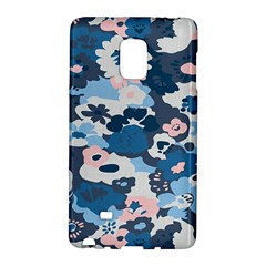 Fabric Wildflower Bluebird Galaxy Note Edge by Simbadda