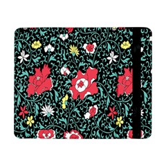 Vintage Floral Wallpaper Background Samsung Galaxy Tab Pro 8 4  Flip Case by Simbadda