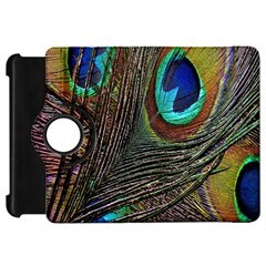 Peacock Feathers Kindle Fire Hd 7  by Simbadda
