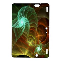 Art Shell Spirals Texture Kindle Fire HDX 8.9  Hardshell Case by Simbadda
