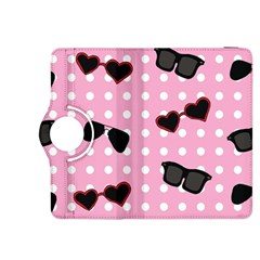 Pisunglass Tech Pink Pattern Kindle Fire HDX 8.9  Flip 360 Case by Simbadda
