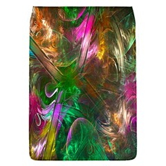 Fractal Texture Abstract Messy Light Color Swirl Bright Flap Covers (S)  by Simbadda