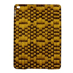 Golden Pattern Fabric Ipad Air 2 Hardshell Cases by Onesevenart
