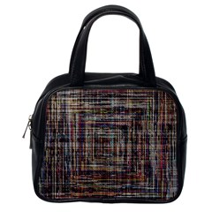 Unique Pattern Classic Handbags (One Side) by Onesevenart