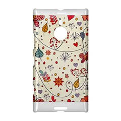 Spring Floral Pattern With Butterflies Nokia Lumia 1520 by TastefulDesigns