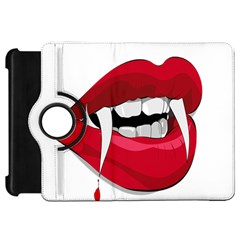 Mouth Jaw Teeth Vampire Blood Kindle Fire Hd 7  by Simbadda